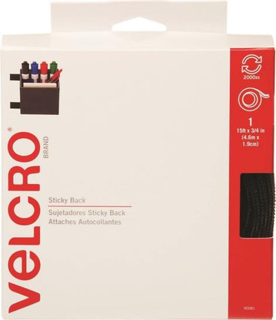 "Velcro, 3/4"" x 15', Beige"