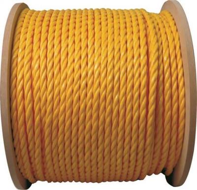 "Rope, Polypropylene Twisted, 3/8"" x 1'"
