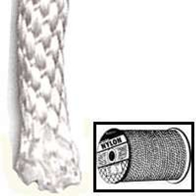 "Rope, Nylon, Solid Braided, 1/2"" x 1'"