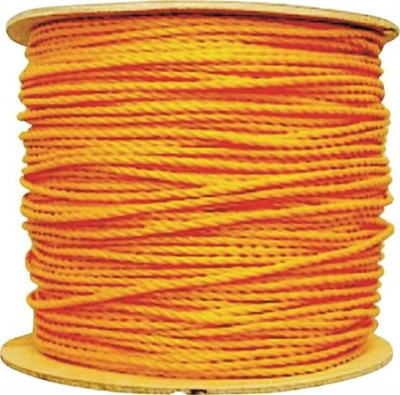 "Rope, PolypropyleneTwisted 3 Strand, 1/4"" x  1'"