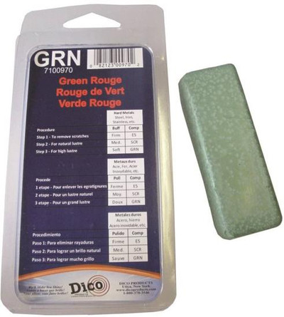 Buffing Compound, Green, Soft