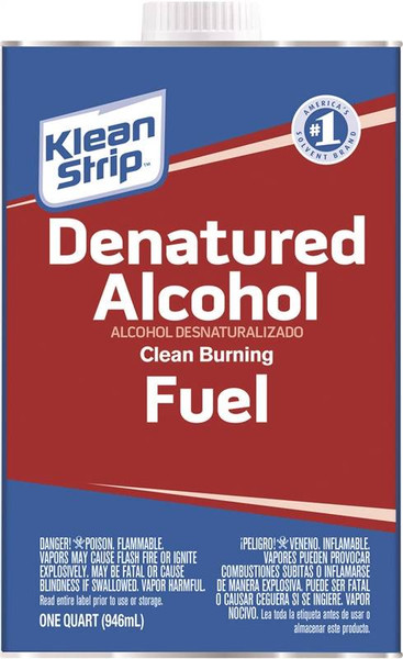 Denatured Alcohol,  1 Quart