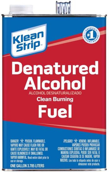 Denatured Alcohol, 1 Gallon