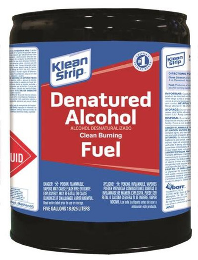 Denatured Alcohol, 5 Gallon