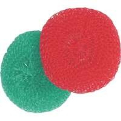 Plastic Scouring Pad, 2 Pack