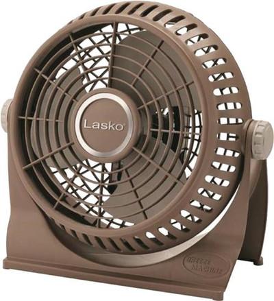 "Fan, 10"", 2 Speed, Table Top Or Floor, Tiltable 360 Deg"