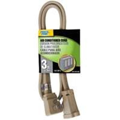 Appliance/Air Conditioner Power Extension Cord, 14/3,  3'