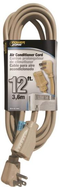 Appliance/Air Conditioner Power Extension Cord, 14/3, 12'