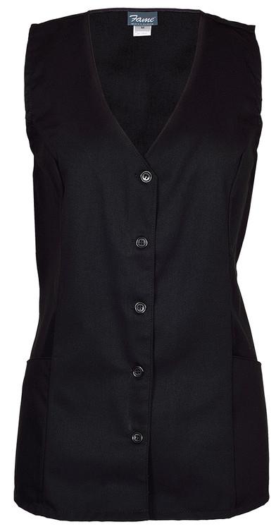 Fame V-93 2 Pocket Female Tunic Volunteer Vest (4 Color Options)