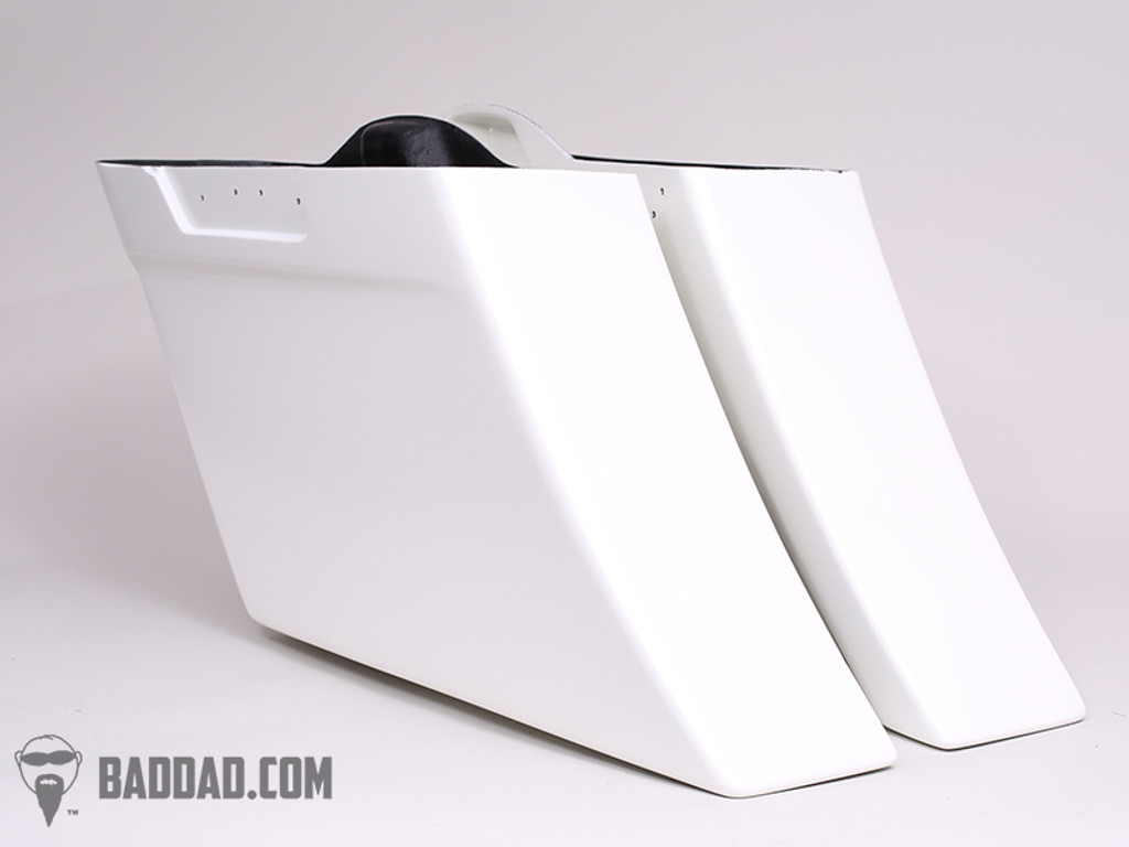 BAD DAD COMPETITION SERIES STRETCHED SADDLEBAGS FOR 2014+