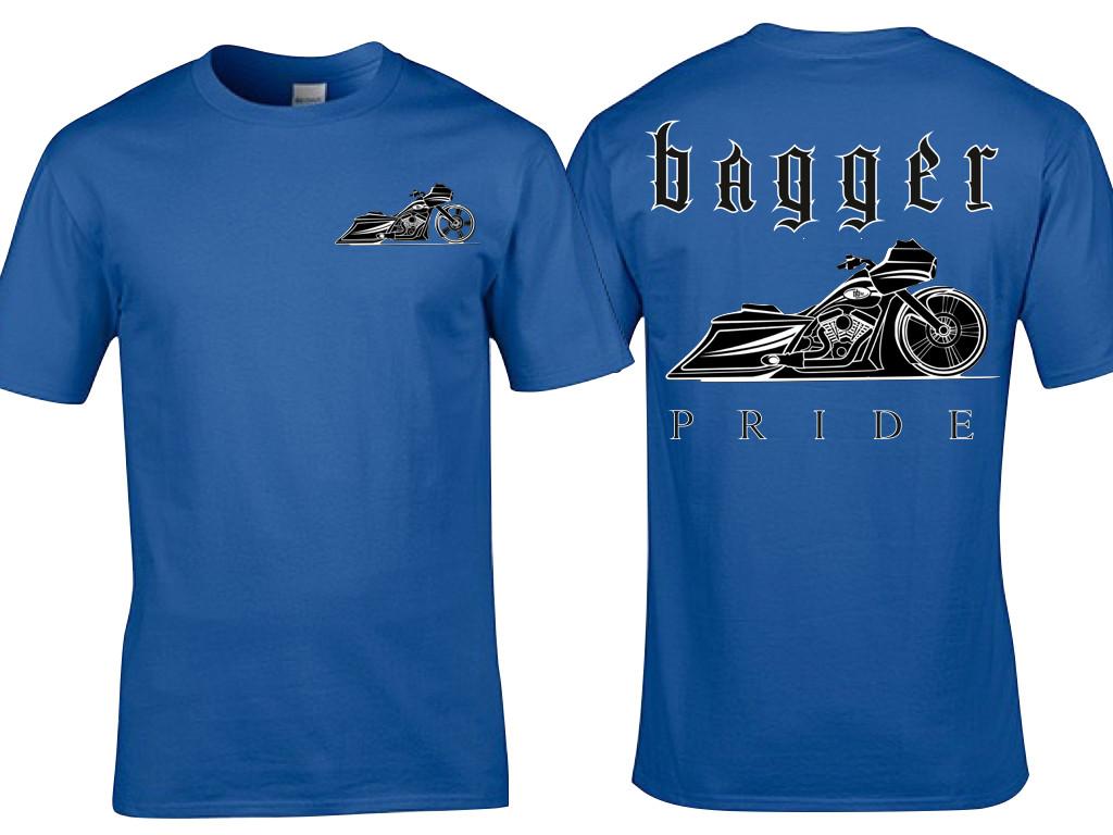 BAGGER PRIDE (Road Edition) T-Shirt