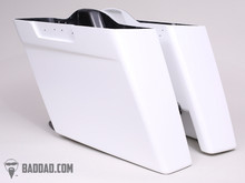 BAD DAD 5 INCH STRETCHED SADDLEBAGS FOR 1993-2014+