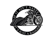 IF IT AIN'T NASTY IT'S JUST A BAGGER (Street Edition) T-Shirt