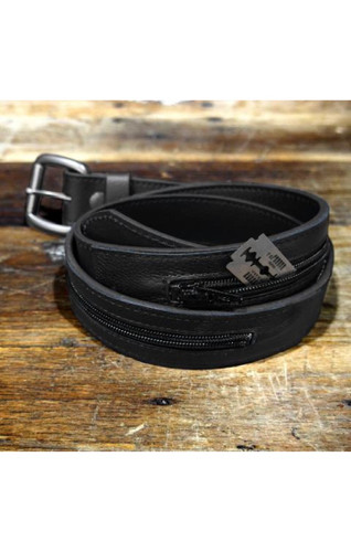 LEATHER HIDEWAY BELT