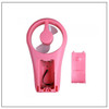 Mini Fan Pink USB Cable with FREE Sony 4xAA Batteries - Welcome To Lash Supplies -5