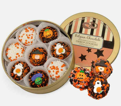 Assorted Halloween Oreo Cookie Tin
