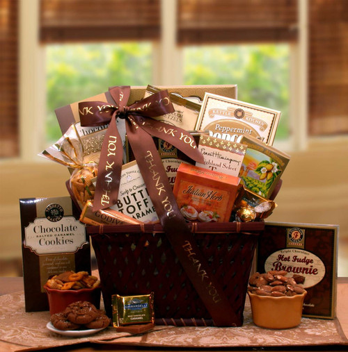 A Very Special Thank you Gourmet Gift Basket
