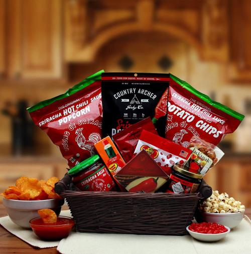 Hot & Spicy Sriracha Lovers Gift Basket