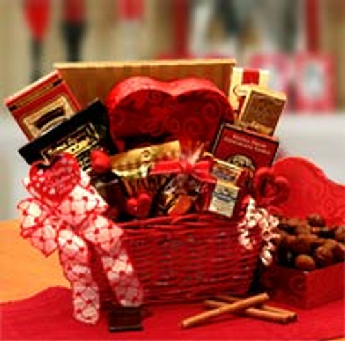 Cupids Choice Valentines Chocolates Gift Basket