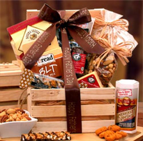 Dad's Favorites Premium Nuts & Snacks Crate