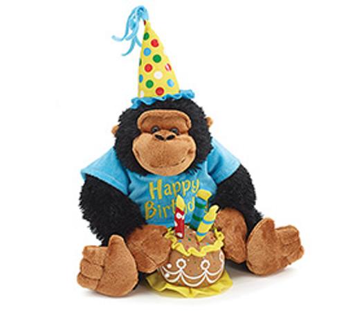 Happy Birthday Musical Monkey