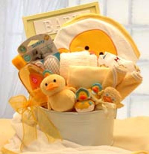 Bath Time Baby Gift Tub - Medium