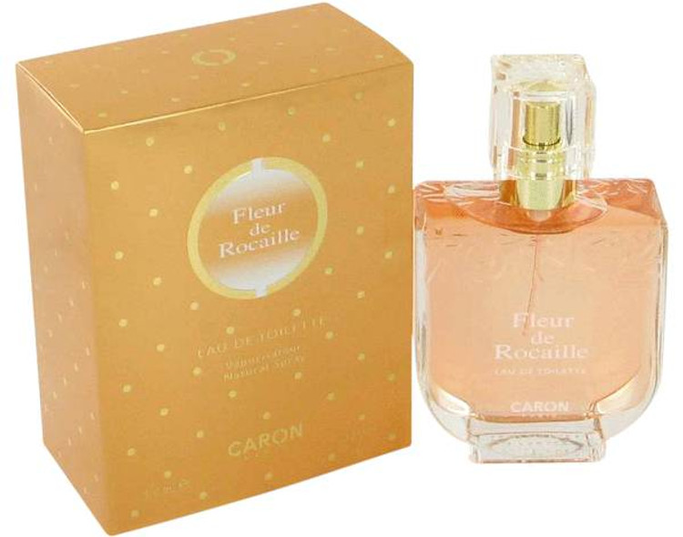 Fleur De Rocaille Perfume Womens by Caron Edt Spray 3.3 oz