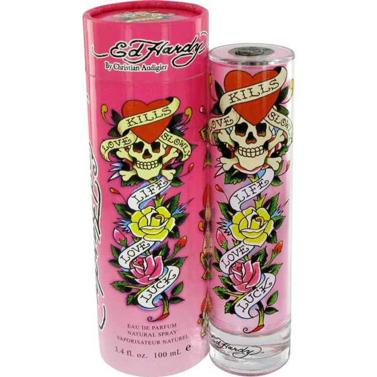 ED Hardy Femme Perfume Womens by Christain Audigier Edp Spray 3.4 oz