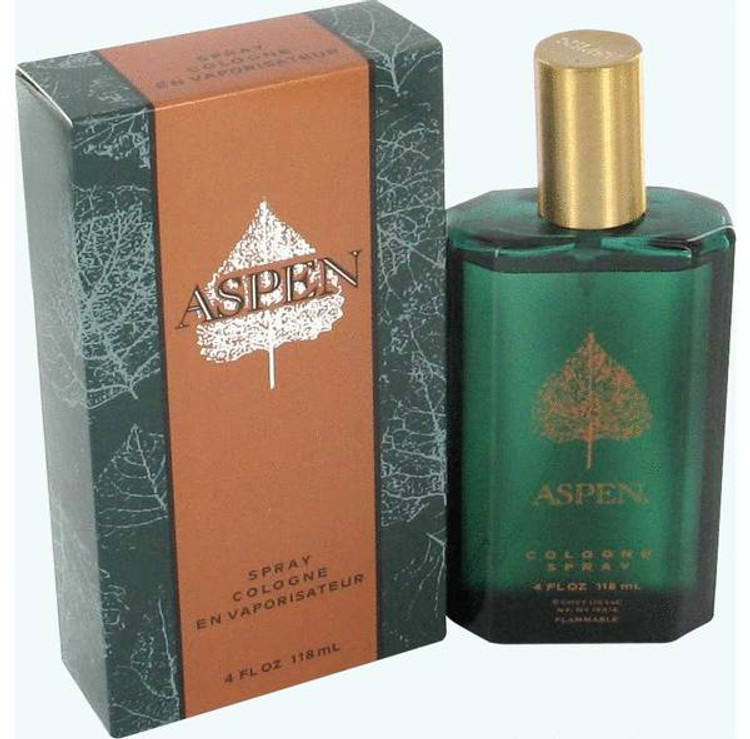 Aspen Cologne by Coty Mens Edt Spray 4.0 oz