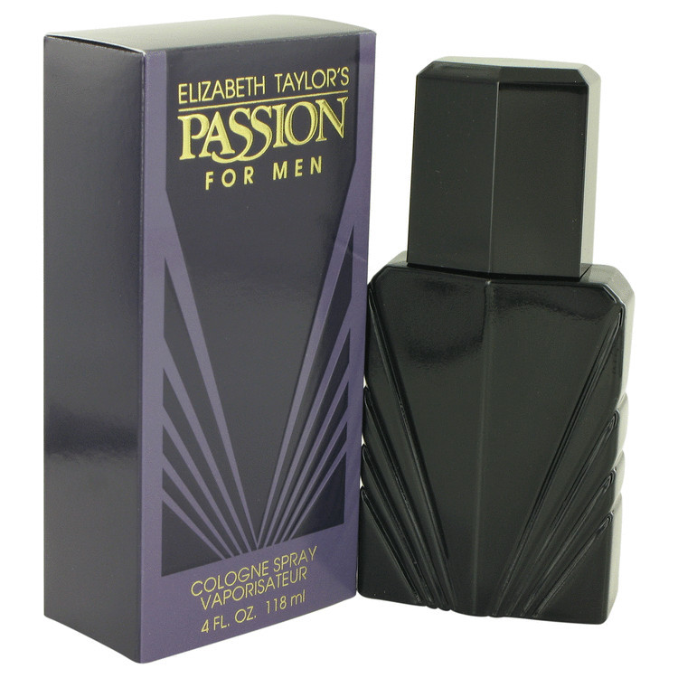 Passion Cologne by Elizabeth Taylor for Men Edc Spray 4.0 oz
