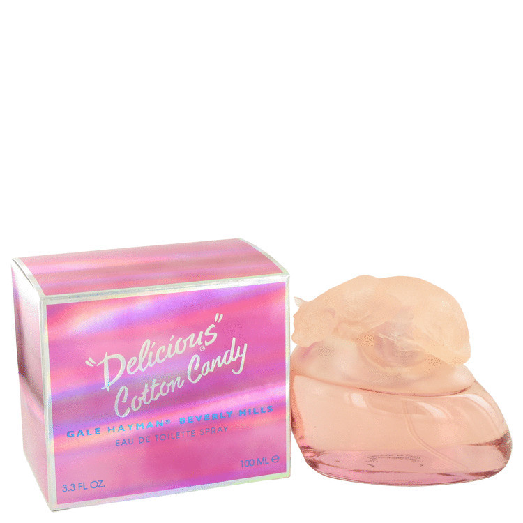 Delicious Cotton Candy for Women Perfume by Gale Hayman Edt Spray 3.4 oz