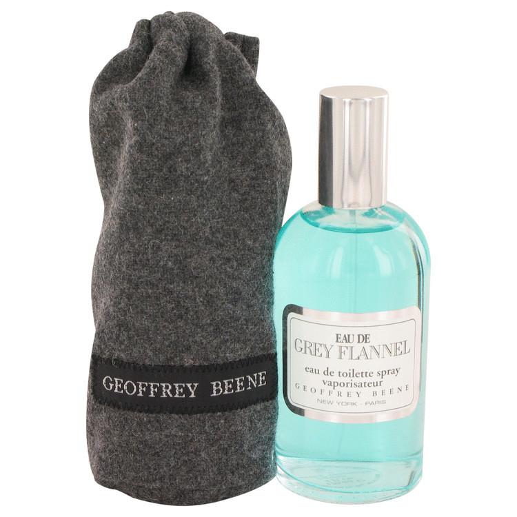 Eau De Grey Flannel for Men Cologne by Geoffrey Beene Edt Spray 4.0 oz
