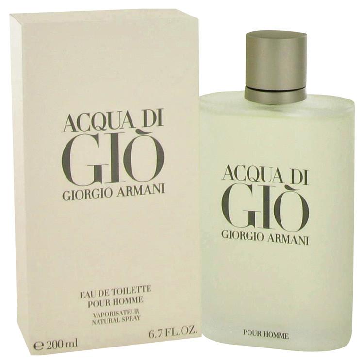 Acqua Di Gio Mens Cologne by Giorgio Armani Edt Spray 3.4 oz