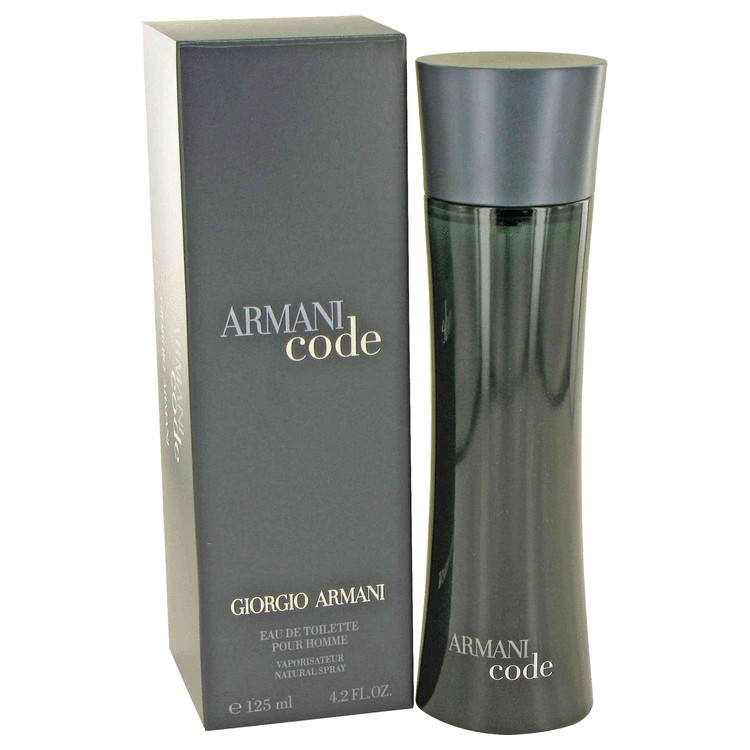 Armani Code Men Cologne by Giorgio Armani Edt Spray 4.2 oz