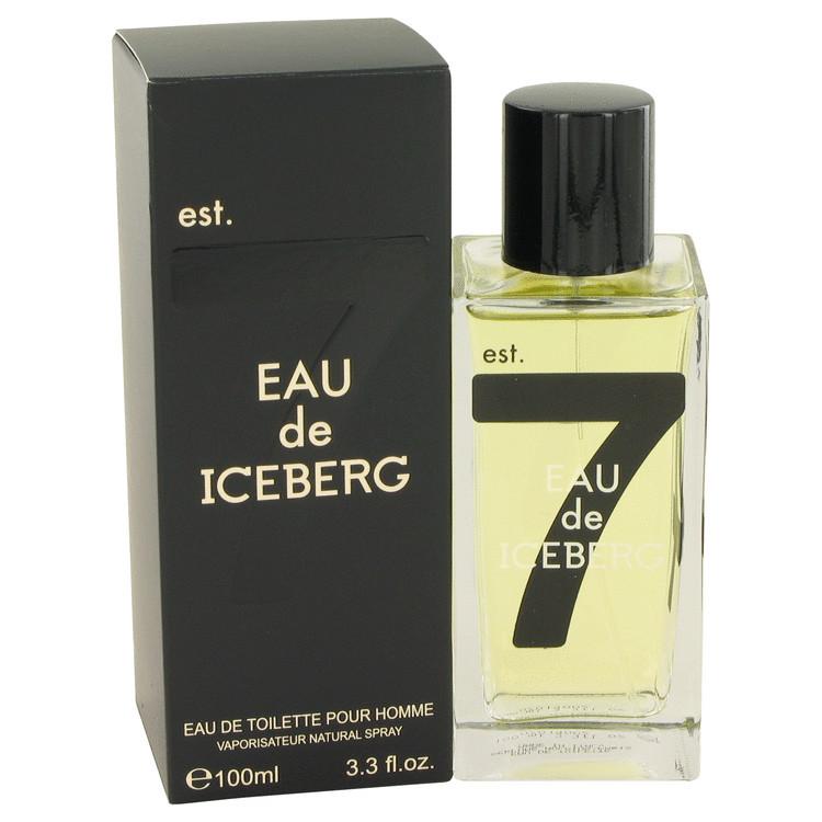 Eau De Iceberg Cologne for Men by Iceberg Edt Spray 3.3 oz