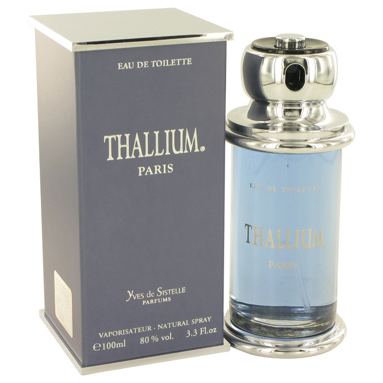 Thallium Mens Cologne by Jacques Evard Edt Spray 3.3 oz