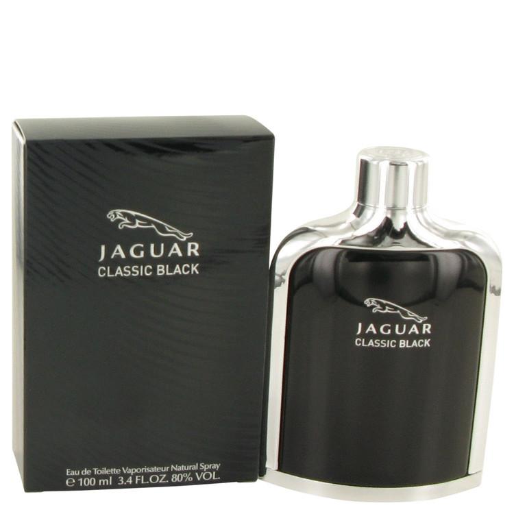 Jaguar Black for Mens Cologne by Jaguar Edt Spray 3.4 oz