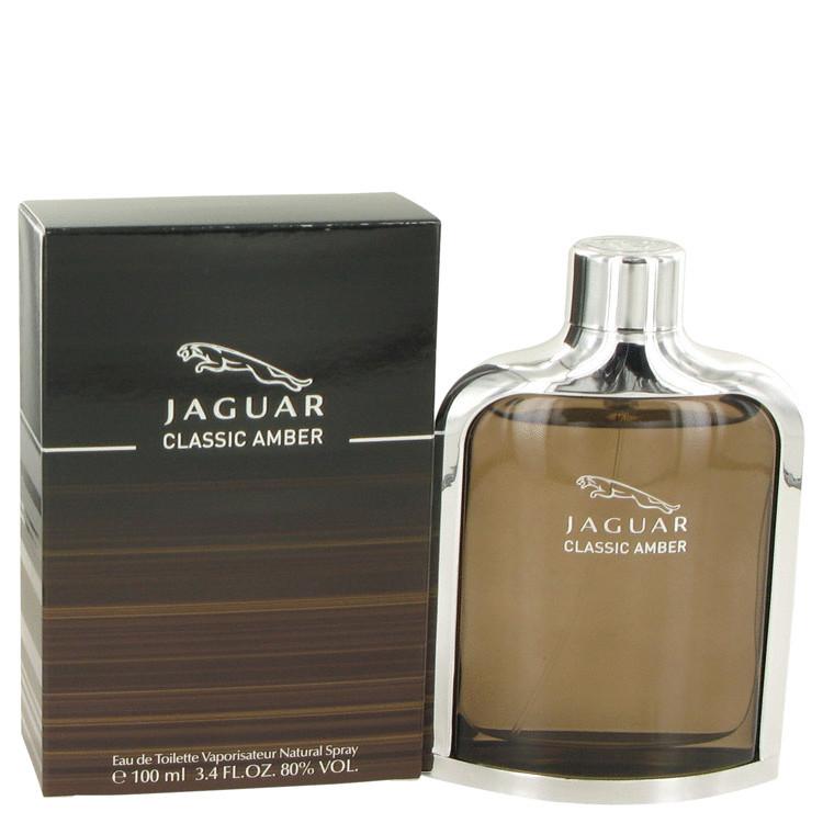 Jaguar Amber for Men Cologne by Jaguar Edt Spray 3.4 oz