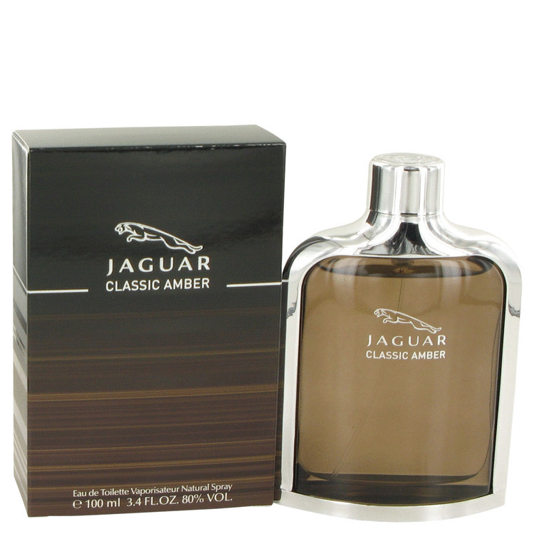 Jaguar Amber for Mens Cologne by Jaguar Edt Spray 3.4 oz