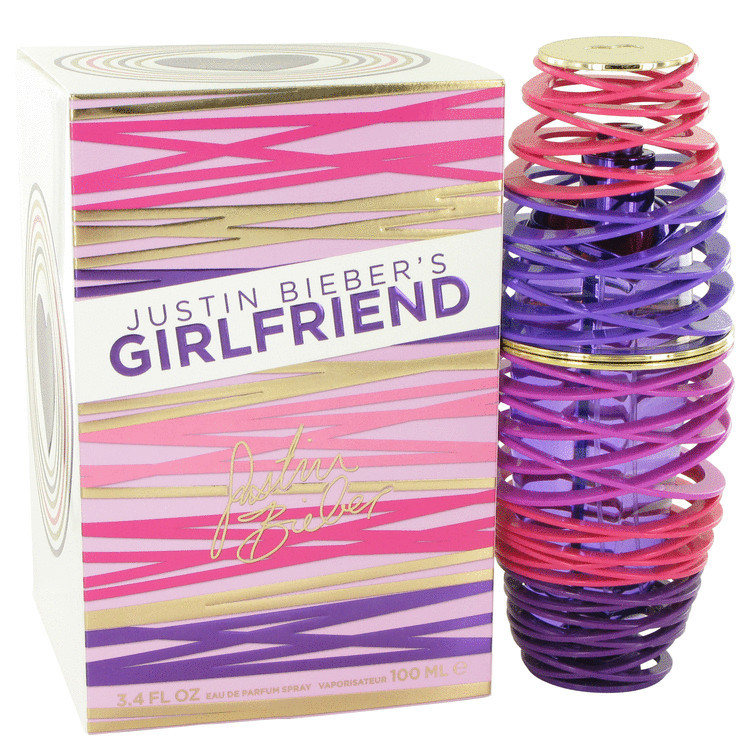 Girlfriend Womens Perfume by Justin Bieber Edp Spray 3.4 oz