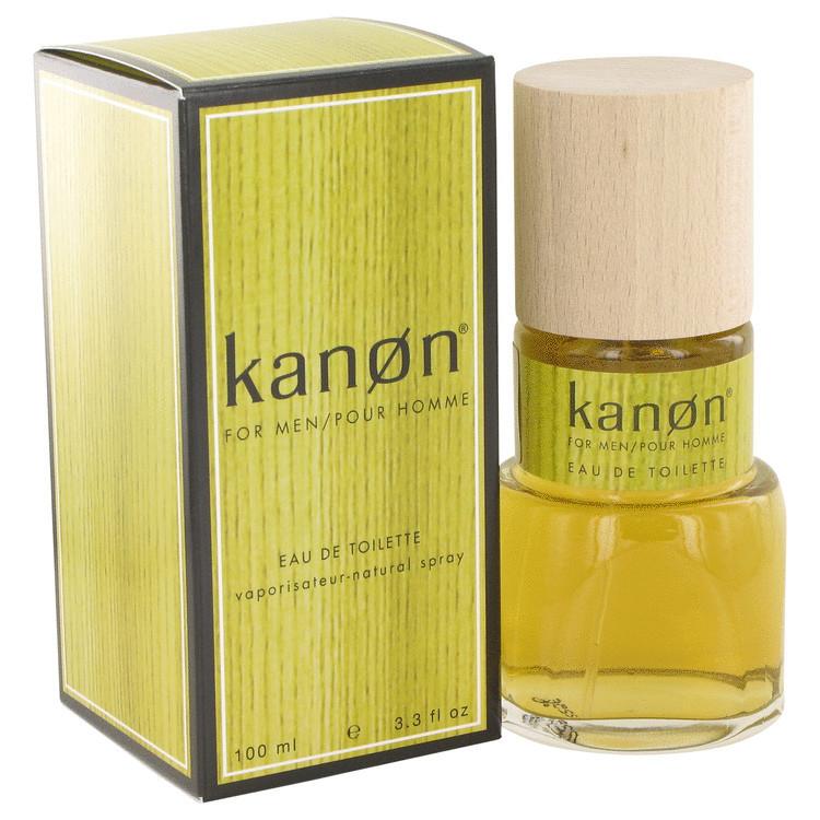 Kanon Cologne For Men by Scannon Edt Spray 3.4 oz
