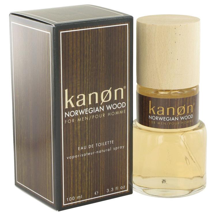 Kanon Norwegian Wood Cologne for Men Edt Spray 3.4 oz
