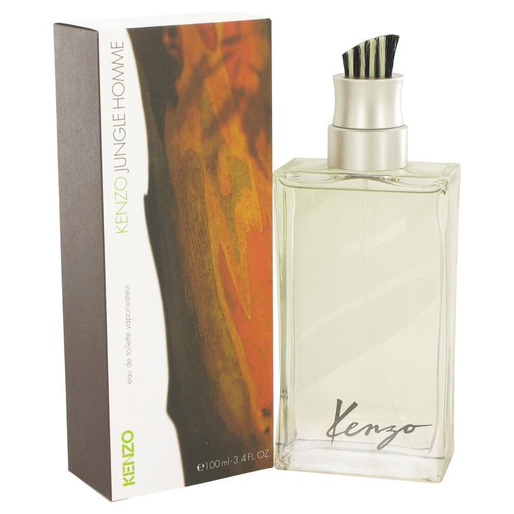 Jungle Cologne by Kenzo for Men Edt Spray 3.4 oz