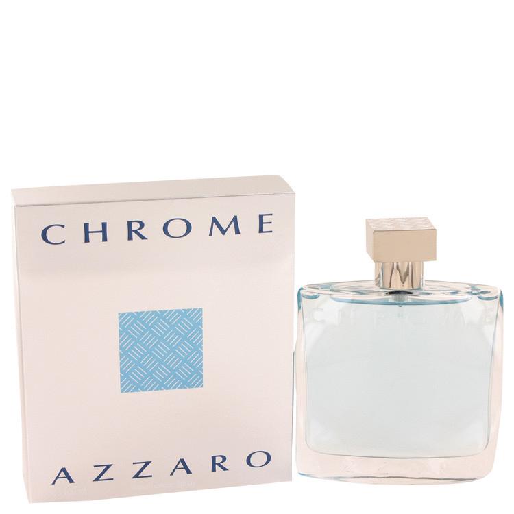 AZZARO CHROME By Loris Azzaro For Men 3.4oz EDT SP..
