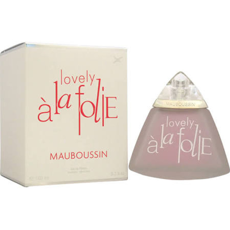 A La FOLIE LOVELY by Mauboussin For Women 3.3oz EDP SP