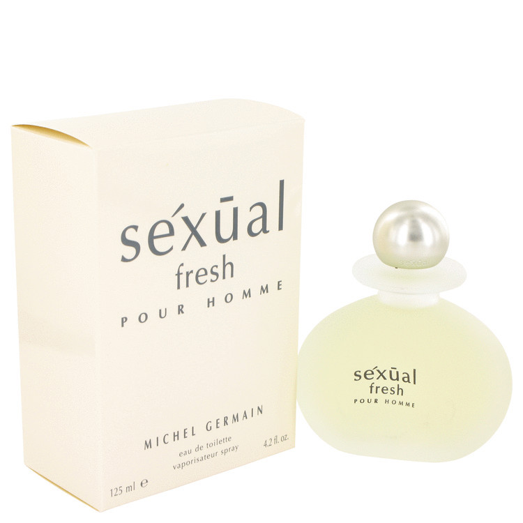 Sexual Fresh EDT Spray fro Men by Michel Germain 4.2 oz