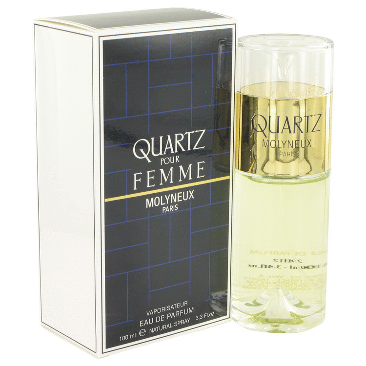 Quartz by Molyneux Eau De Parfum Spray 3.4 oz - Women