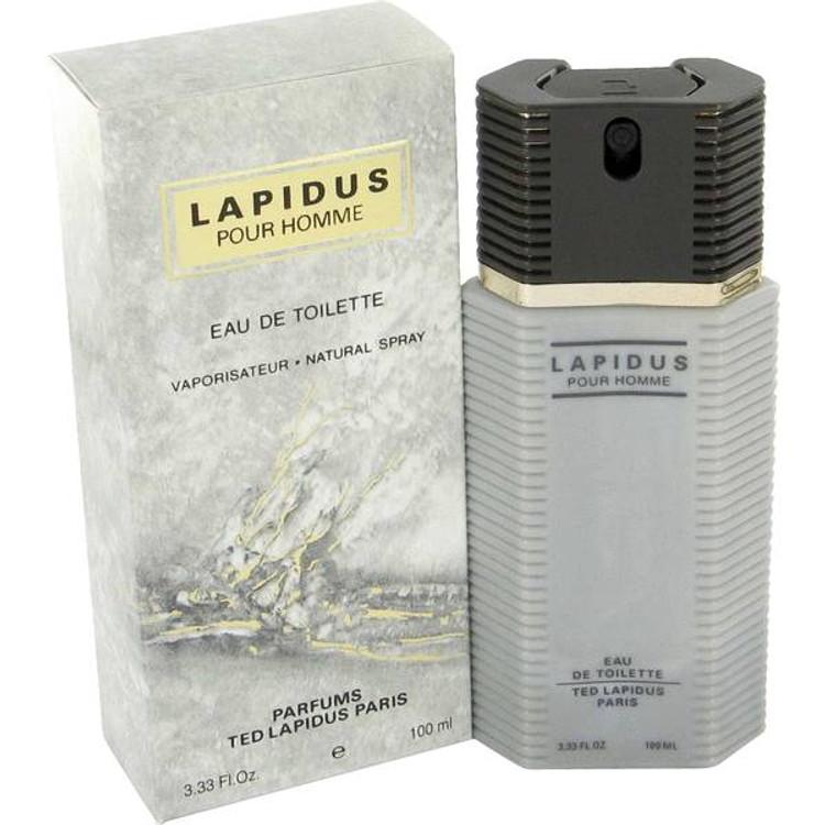 LAPIDUS Cologne for Men by Ted Lapidus Edt Spray 3.3 oz