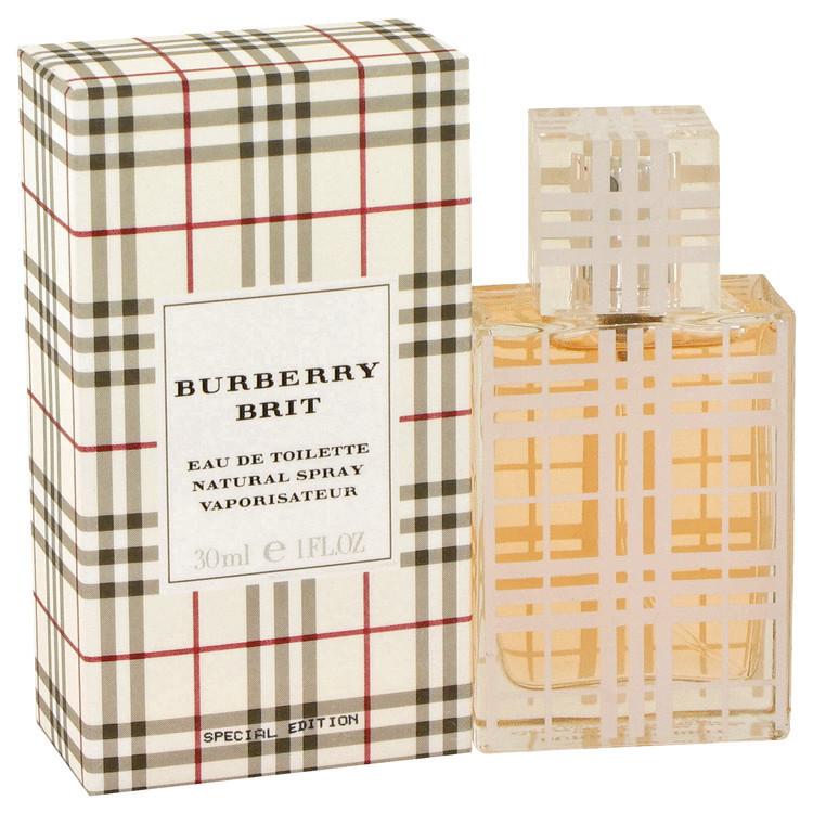 Burberry Brit Perfume for Women by Burberry Edt Spray 1 oz