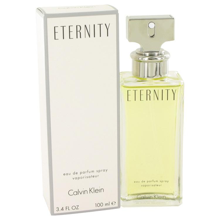 Eternity Perfume By Calvin Klein Women Eau De Parfum Spray 3.4 Oz